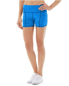 Gwen Drawstring Bike Short-30-Blue